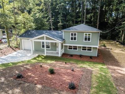 Marietta Single Family Home For Sale: 1544 Wildwood Road