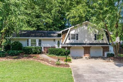 Single Family Home For Sale: 738 Foxcroft Trail SE