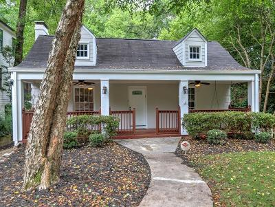 Atlanta Single Family Home For Sale: 654 Courtenay Drive NE