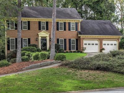 Cobb County Single Family Home For Sale: 2131 Lamplight Drive