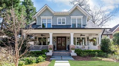 Atlanta Single Family Home For Sale: 75 Montgomery Ferry Drive NE