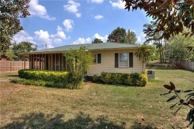 Bartow County Single Family Home For Sale: 117 Casey Street