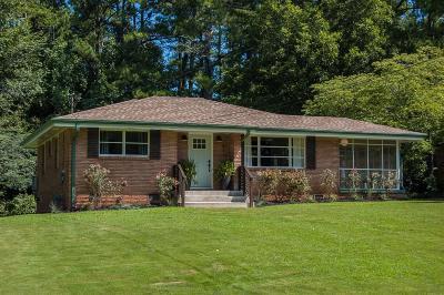 Smyrna Single Family Home For Sale: 851 Lake Court SE