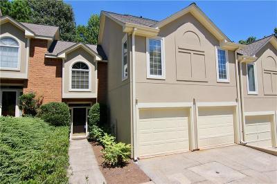 Dunwoody Condo/Townhouse For Sale: 5319 Brooke Ridge Drive