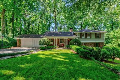Atlanta Single Family Home For Sale: 4159 McClatchey Circle NE