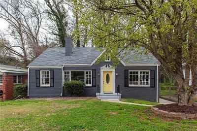 Single Family Home For Sale: 1303 W Fair Street SW