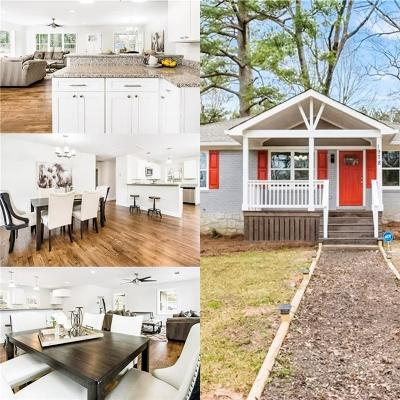 Decatur Single Family Home For Sale: 1978 Terry Mill Road SE