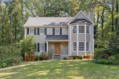 Marietta Single Family Home For Sale: 1820 Wicks Trace