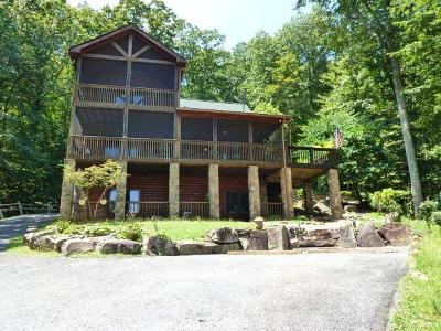 Blue Ridge Single Family Home For Sale: 1222 Sunrock Mountain Road