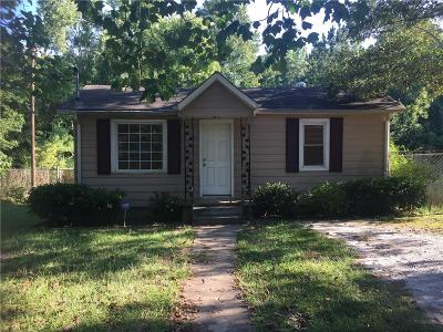 Single Family Home For Sale: 1344 Biffle Road
