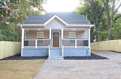 Cartersville Single Family Home For Sale: 109 Lee Street