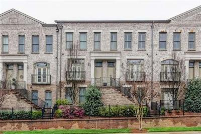 Atlanta Condo/Townhouse For Sale: 3574 Roswell Road NW #51