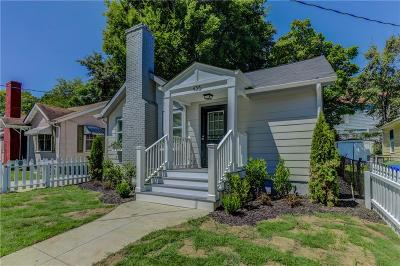 Atlanta Single Family Home For Sale: 456 Griffin Street NW