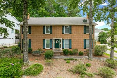Atlanta Condo/Townhouse For Sale: 9113 Carroll Manor Drive