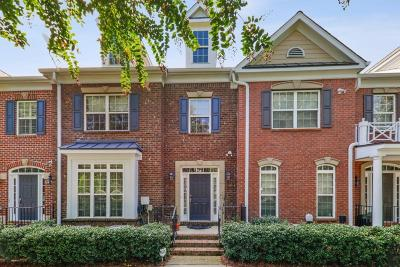 Alpharetta Condo/Townhouse For Sale: 3222 Buck Way