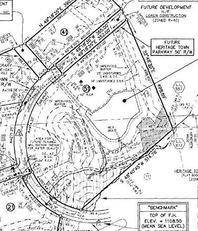 Canton Residential Lots & Land For Sale: 230 Heritage Town Parkway