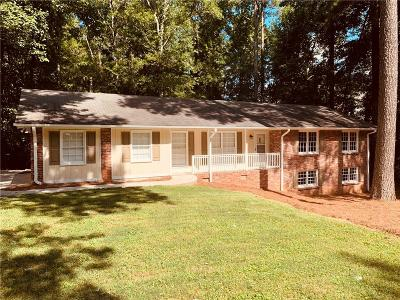 Lilburn Single Family Home For Sale: 3406 Alcazar Drive SW