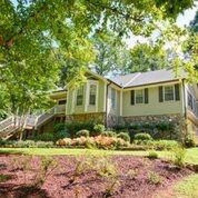 Acworth Single Family Home For Sale: 1010 Mars Hill Road NW