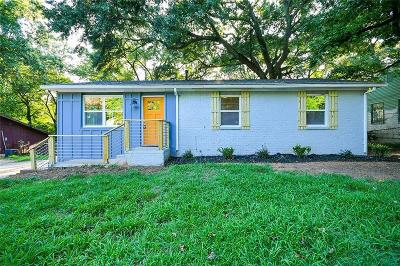 Atlanta Single Family Home For Sale: 1143 Mayland Circle SW
