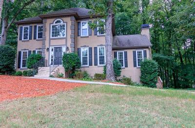 Kennesaw Single Family Home For Sale: 2409 Caylor Hill Pointe NW