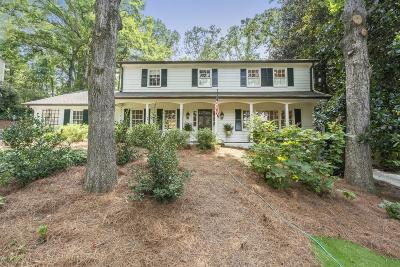 Sandy Springs Single Family Home For Sale: 620 Edgewater Trail