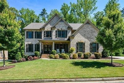 Kennesaw Single Family Home For Sale: 3512 Sutters Pond Run NW