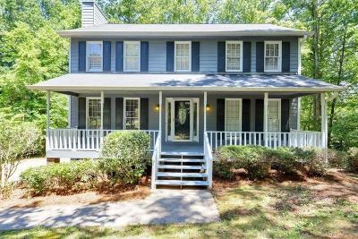 Roswell Single Family Home For Sale: 4609 Glenforest Drive NE