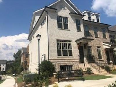 Sandy Springs Condo/Townhouse For Sale: 4329 Parkside Place #14
