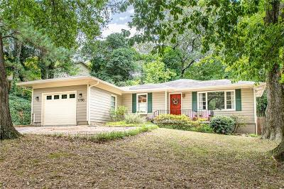 Atlanta Single Family Home For Sale: 1790 Defoor Avenue