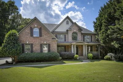 Roswell Single Family Home For Sale: 3874 Fort Trail NE