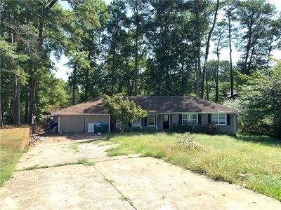 Tucker Single Family Home For Sale: 594 Old Norcross Tucker Road