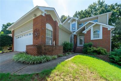 Kennesaw Single Family Home For Sale: 4399 White Surrey Drive NW