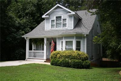 Atlanta Single Family Home For Sale: 1569 Elleby Road SE