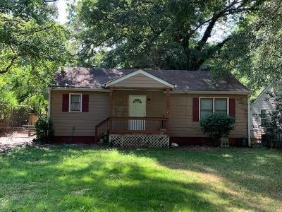 Atlanta Single Family Home For Sale: 779 Clifton Road SE