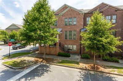 Alpharetta GA Condo/Townhouse For Sale: $339,000