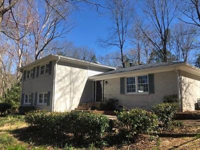 Brookhaven Single Family Home For Sale: 3606 Inman Drive