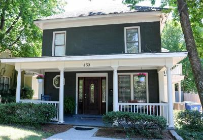 Atlanta Single Family Home For Sale: 469 Atlanta Avenue SE