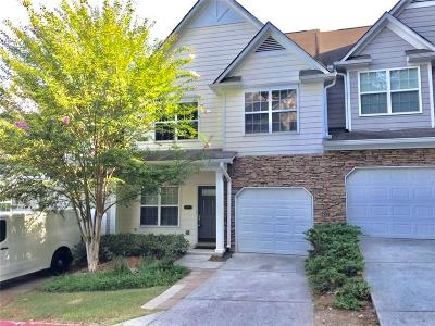Kennesaw Condo/Townhouse For Sale: 1975 Hoods Fort Circle NW #24
