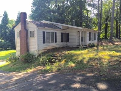 Roswell Single Family Home For Sale: 96 Woodstock Road
