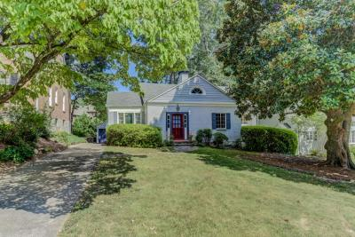 Druid Hills Single Family Home For Sale: 404 Princeton Way NE
