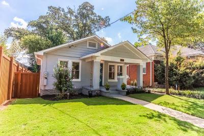 Atlanta Single Family Home For Sale: 308 McPherson Place SE