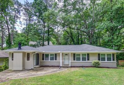 Brookhaven Single Family Home For Sale: 1995 Fairway Circle NE
