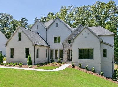 Acworth Single Family Home For Sale: 4281 Governors Town Drive NW