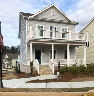 Marietta Single Family Home For Sale: 200 Fender Walk