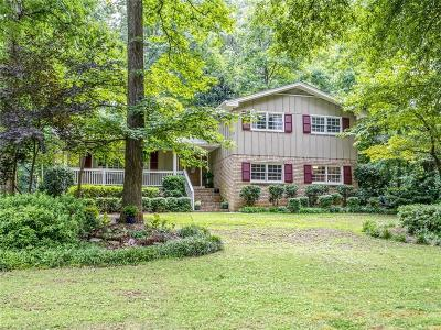 Dunwoody Single Family Home For Sale: 4591 Sudbury Road