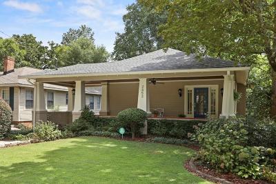 Atlanta Single Family Home For Sale: 2653 Brookwood Drive NE