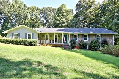 Kennesaw Single Family Home For Sale: 3960 Stilesboro Road NW