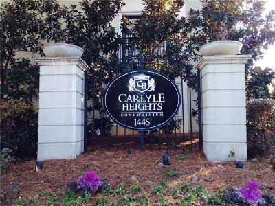 Atlanta Condo/Townhouse For Sale: 1445 Monroe Drive NE #E26