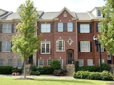 Marietta Condo/Townhouse For Sale: 573 Parkside Village Way NW