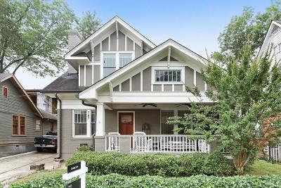 Atlanta Single Family Home For Sale: 787 Greenwood Avenue NE